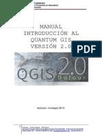 Manual introducción al Qgis 2.O