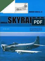 (Warpaint Series No.18) Douglas Skyraider including AD-1 to AD-7