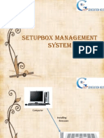 Setupbox Management System