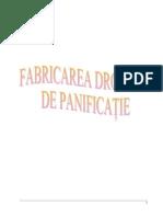 Fabricarea Drojdiei de Panificatie