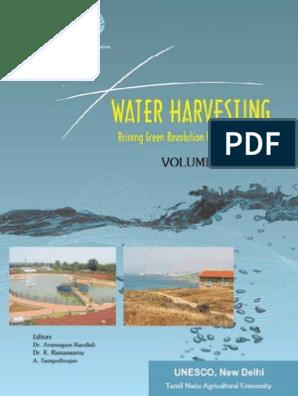 Water Harvesting: Bringing Green Revolution to Rainfed Areas