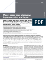 Drug Discovery Today Volume Issue 2013 [Doi 10.1016_j.drudis.2013.05.012] Visser, Sandra a.G.; Aurell, Malin; Jones, Rhys D.O.; Schuck, Vi -- Model-Based Drug Discovery- Implementation and Impact