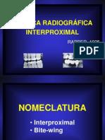 Tecnicas Radiograficas Interproximais e Oclusais