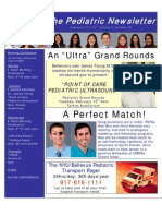 Pediatric Newsletter 2.11.08
