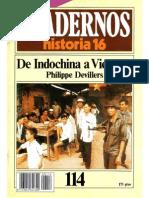 Cuadernos de Historia 16 - 114 - De Indochina a Vietnam.pdf