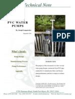 PVC Water Pumps