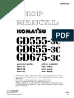 download komatsu gd555 gd655 gd675 3c motor grader service repair workshop manual