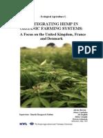 Integrating Hemp in Organic Farming