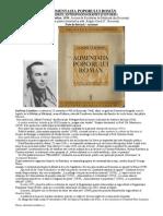 ALIMENTAȚIA POPORULUI ROMÂN - dr. Ioan Claudian (note de lectură - rezumat)