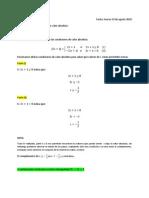 CValculo diferencial
