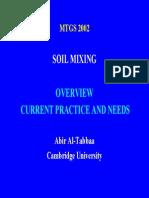 Soil Mixing
