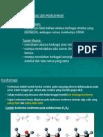3 Konformasi Isomer