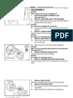 1997 Toyota Land Cruiser Power Steering Reassembly (FSM)