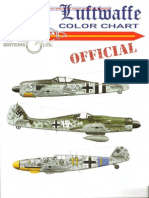 Luftwaffe Color Chart Official