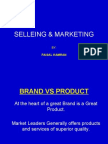 Selleing and Marketing