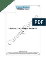 General Awareness Handout