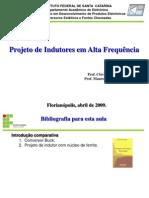 Projeto de Indutores Em Alta Frequencia