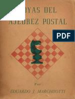 Joyas Del Ajedrez Postal Eduardo Marchisotti