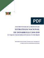 Estrategia Nacional de Desarrollo 2010-2030