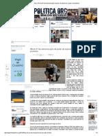 Folha Política_ PM de SP faz demonstração de poder de explosivos usados em protestos