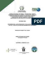Informe Proyecto FODECYT 02-2010
