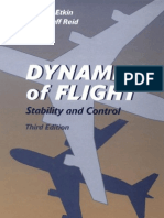 Dynamics of Flight Stability and Control