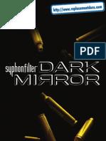 Syphon Filter - Dark Mirror - Manual - PSP