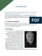 Le Emozioni & Paul Ekman