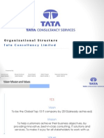 119166466 Organizational Structure TCS