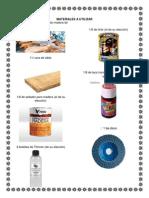 Materiales a Utilizar