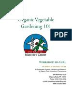 Organic Vegetable Gardening 101