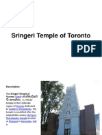 Sringeri Temple of Toronto