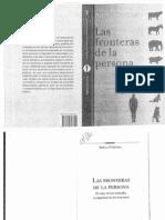 CORTINA, Fronteras de La Persona (Pp.11-63-Pp.178-195-Pp.223-233) (1)