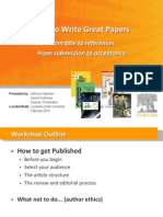 How to write a great paper