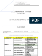 22-At Chiusure Verticali Opache 12-13 - Corso Architettura Tecnica