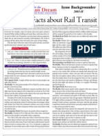Myths and Facts about Rail Transit