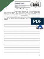Produção escrita - Composição 1