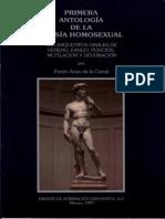 Antología poesía homosexual