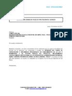 DECLARACIÓN JURADA DE PLAZO DE PRESTACIÓN DEL SERVICIO