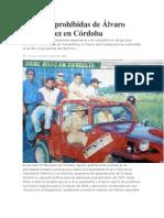 Las fotos prohibidas de Álvaro Uribe Vélez en Córdoba