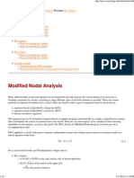 Modified Nodal Analysis