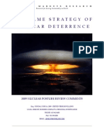 Game Strategy of Nuclear Deterrence