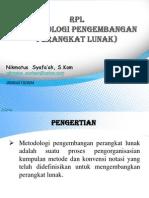 [PPT] Model Proses RPL