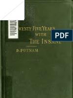 (1885) 25 Years With the Insane by Daniel Putnam, 1824-1906