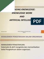 [PPT] Manage Knowlegde