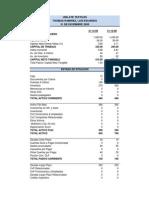 Formato de Analisis de Estados Financieros