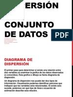Sistemas de dispersión  de 2 conjunto de datos