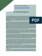 Editorial La Jornada, 1 Diciembre 2012 Un Sexenio Desastroso
