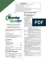 Roundup Quikpro English