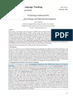 Technology-Enhanced EFL Syllabus Design and Materials Development - Long v Nguyen